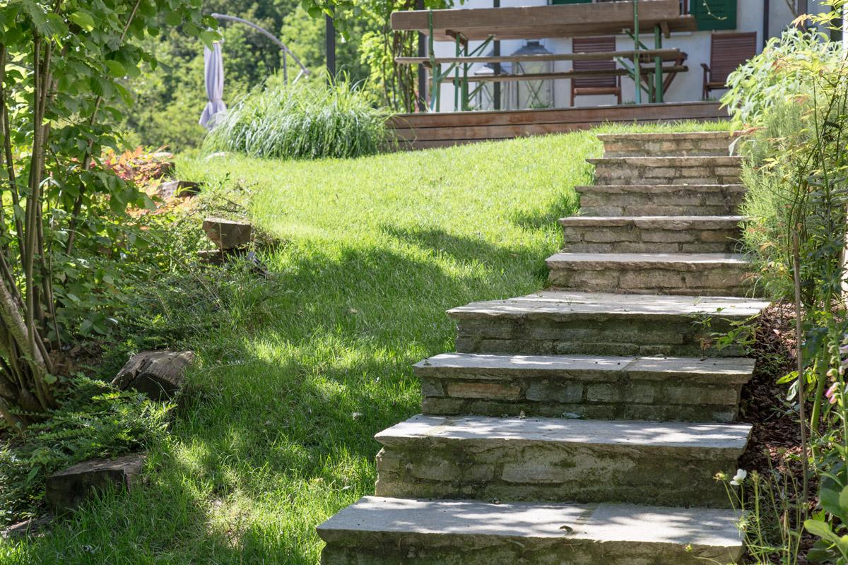 Pavimentazioni e camminamenti for Laghetti prefabbricati
