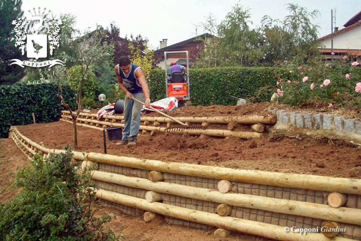 Contenimento terra - Acquisto terra per giardino ...